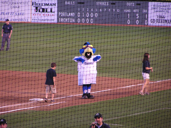 Boomer - The Thunder Mascot - Waterfront Park